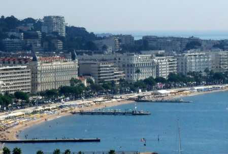 La Croisette in Cannes