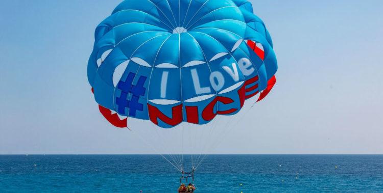 parasailing nice